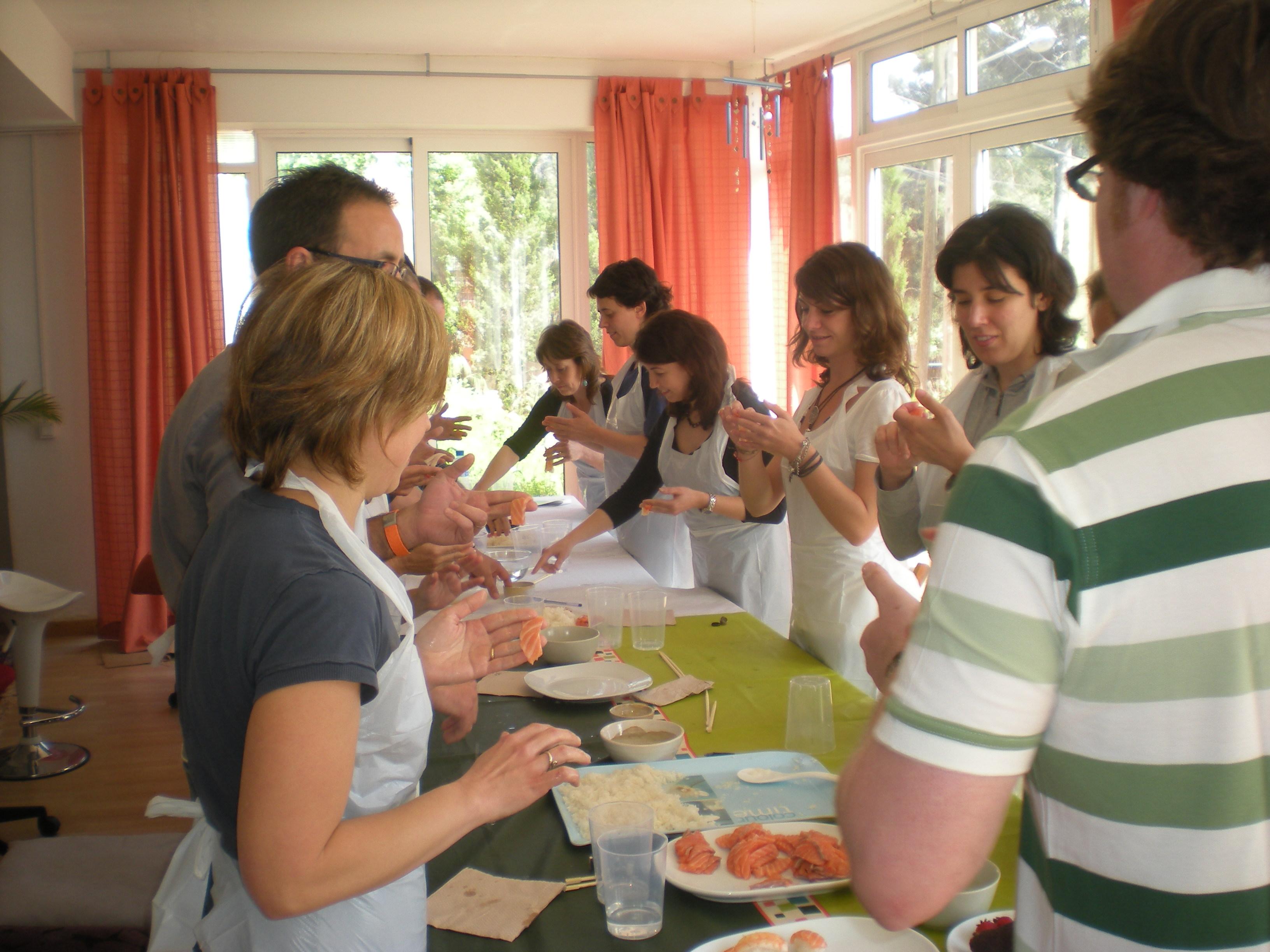 Trabajo en equipo para empresas, Teambuilding gastronómico en Madrid con Álvaro Smit