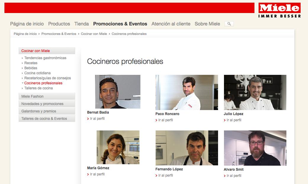 Alvaro Smit cocinero profesional